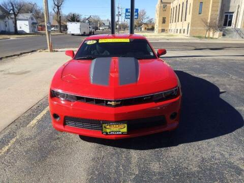 2015 Chevrolet Camaro for sale at Lewis Chevrolet Buick Cadillac of Liberal in Liberal KS