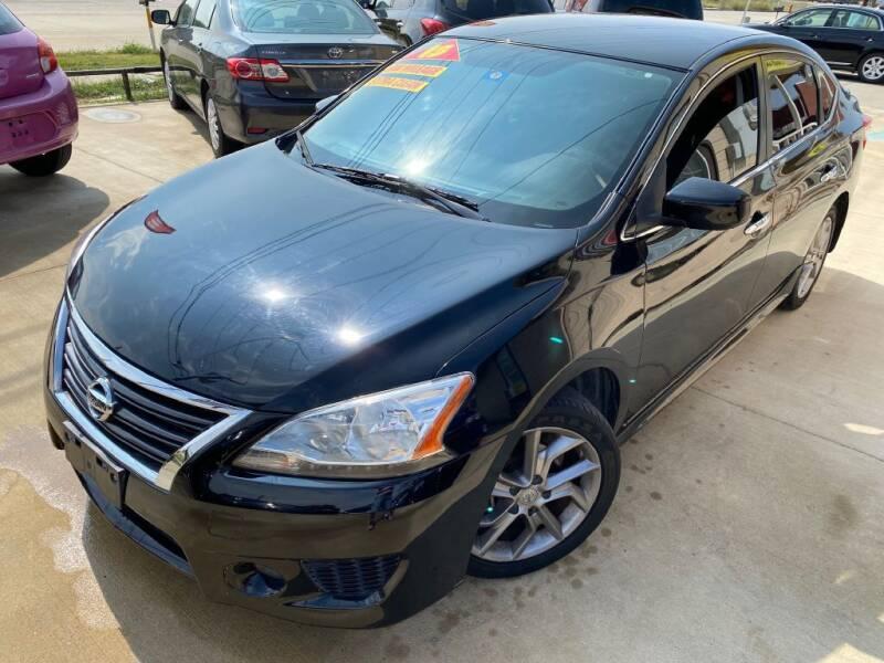 2013 Nissan Sentra for sale at Raj Motors Sales in Greenville TX