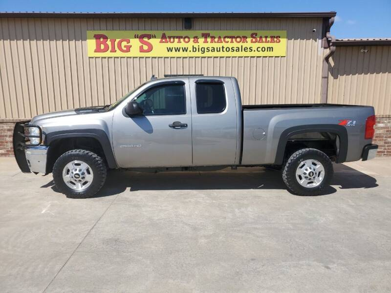 2013 Chevrolet Silverado 2500HD for sale at BIG 'S' AUTO & TRACTOR SALES in Blanchard OK