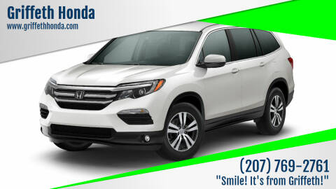 2018 Honda Pilot for sale at Griffeth Honda - Pre Owned in Presque Isle ME