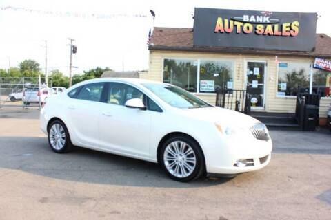 2014 Buick Verano for sale at BANK AUTO SALES in Wayne MI