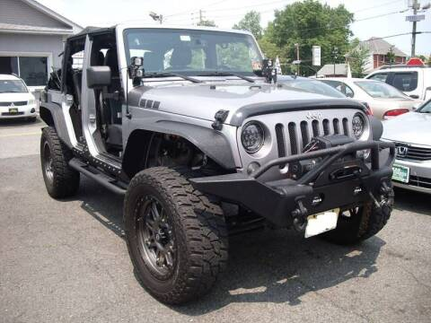 2014 Jeep Wrangler Unlimited for sale at Kar Connection in Little Ferry NJ