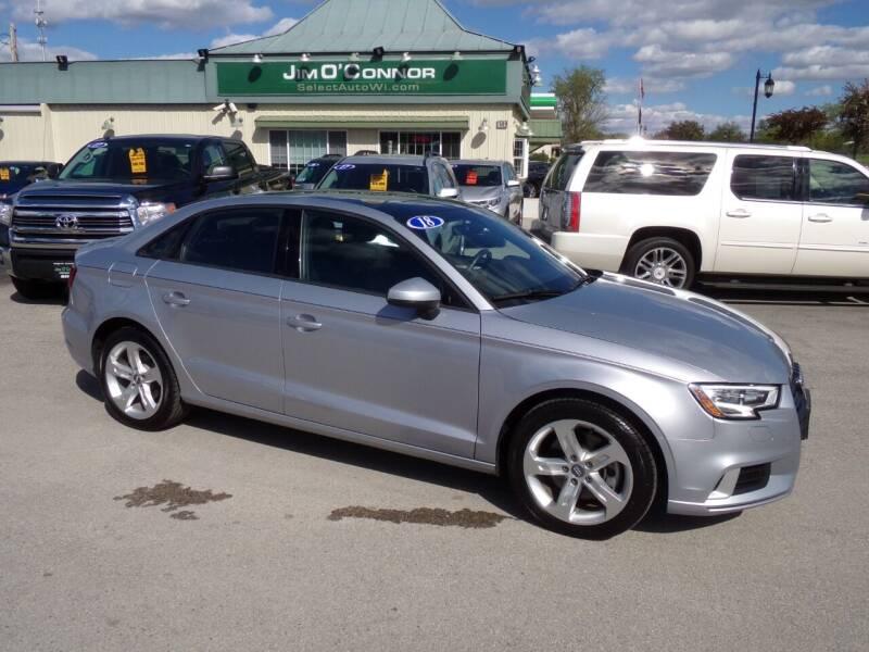 2018 Audi A3 for sale at Jim O'Connor Select Auto in Oconomowoc WI