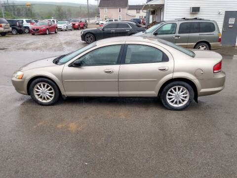 2002 Chrysler Sebring for sale at ROUTE 119 AUTO SALES & SVC in Homer City PA