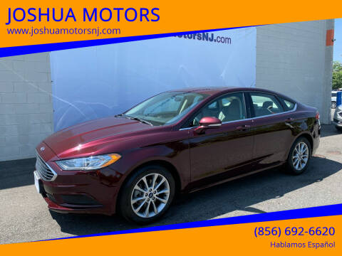 2017 Ford Fusion for sale at JOSHUA MOTORS in Vineland NJ