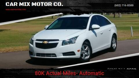 2012 Chevrolet Cruze for sale at CAR MIX MOTOR CO. in Phoenix AZ