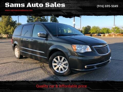 2012 Chrysler Town and Country for sale at Sams Auto Sales in North Highlands CA