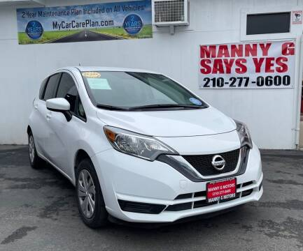2018 Nissan Versa Note for sale at Manny G Motors in San Antonio TX