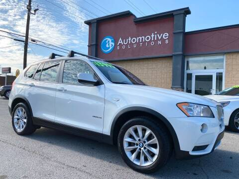 2014 BMW X3 for sale at Automotive Solutions in Louisville KY