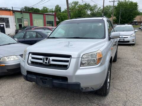 2008 Honda Pilot for sale at ENFIELD STREET AUTO SALES in Enfield CT