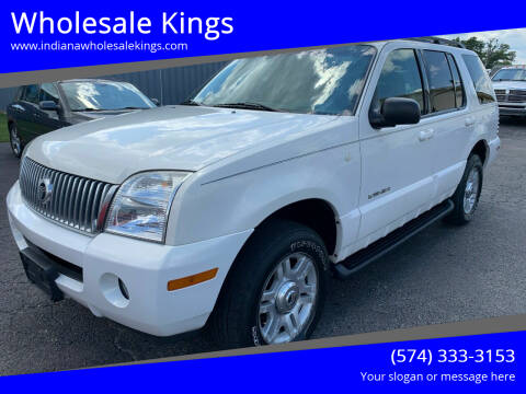 2002 Mercury Mountaineer for sale at Wholesale Kings in Elkhart IN