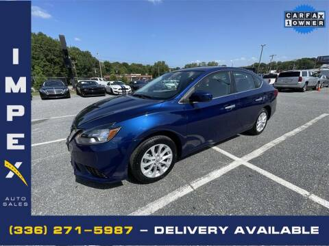 2019 Nissan Sentra for sale at Impex Auto Sales in Greensboro NC