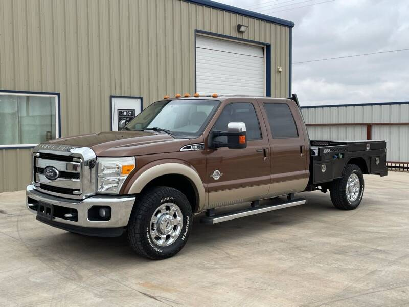 2012 Ford F-350 Super Duty for sale at TEXAS CAR PLACE in Lubbock TX