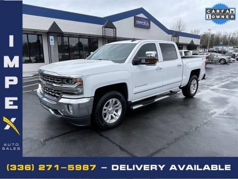 2018 Chevrolet Silverado 1500 for sale at Impex Auto Sales in Greensboro NC
