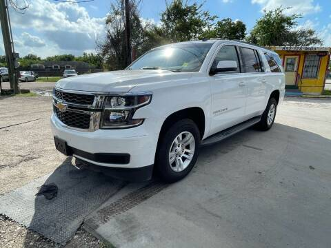 2015 Chevrolet Suburban for sale at RODRIGUEZ MOTORS CO. in Houston TX