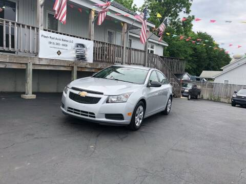2014 Chevrolet Cruze for sale at Flash Ryd Auto Sales in Kansas City KS