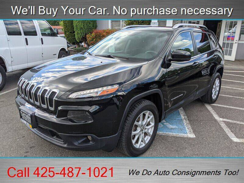 2017 Jeep Cherokee for sale at Platinum Autos in Woodinville WA