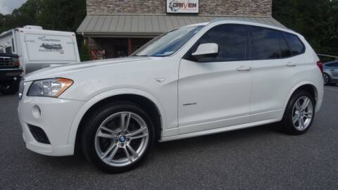 2014 BMW X3 for sale at Driven Pre-Owned in Lenoir NC