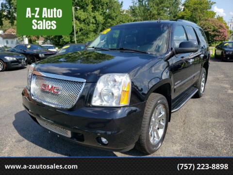 2012 GMC Yukon for sale at A-Z Auto Sales in Newport News VA
