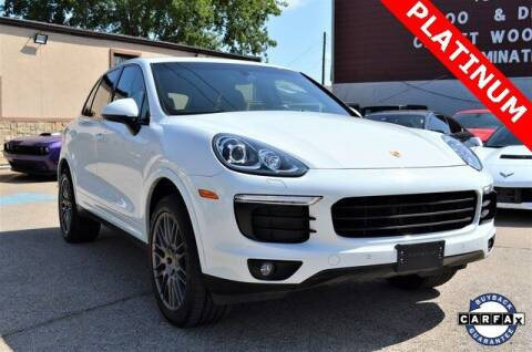 2017 Porsche Cayenne for sale at LAKESIDE MOTORS, INC. in Sachse TX
