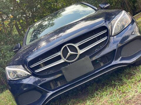 2015 Mercedes-Benz C-Class for sale at HIGH PERFORMANCE MOTORS in Hollywood FL