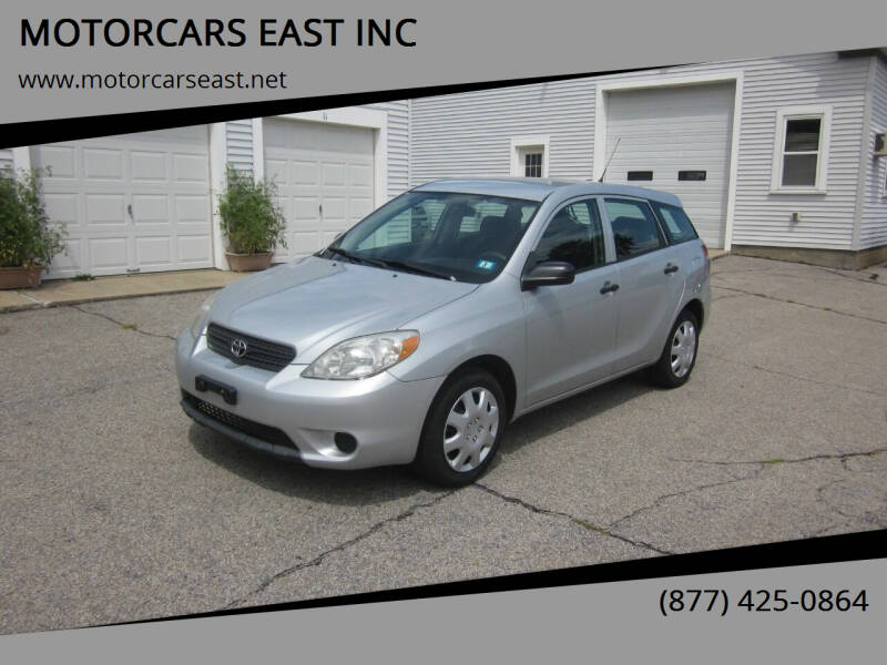 2008 Toyota Matrix for sale at MOTORCARS EAST INC in Derry NH