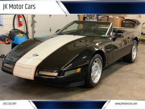 1992 Chevrolet Corvette for sale at JK Motor Cars in Pittsburgh PA