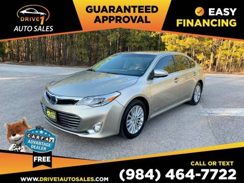 2013 Toyota Avalon Hybrid for sale at Drive 1 Auto Sales in Wake Forest NC