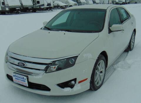 2012 Ford Fusion for sale at Dependable Used Cars in Anchorage AK