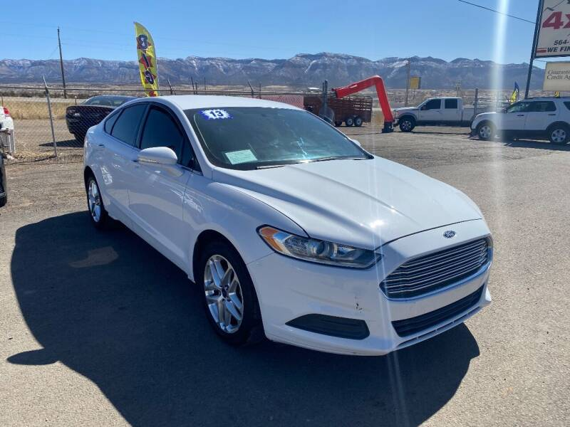2013 Ford Fusion for sale at 4X4 Auto in Cortez CO