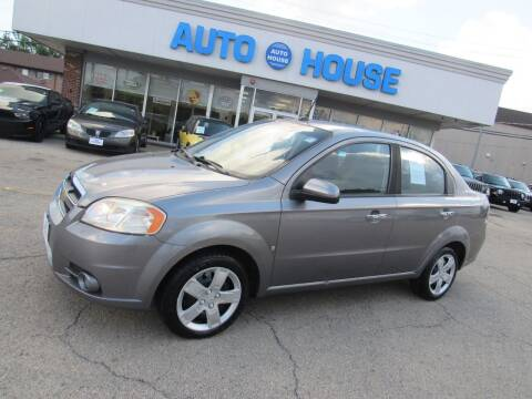 2009 Chevrolet Aveo for sale at Auto House Motors in Downers Grove IL