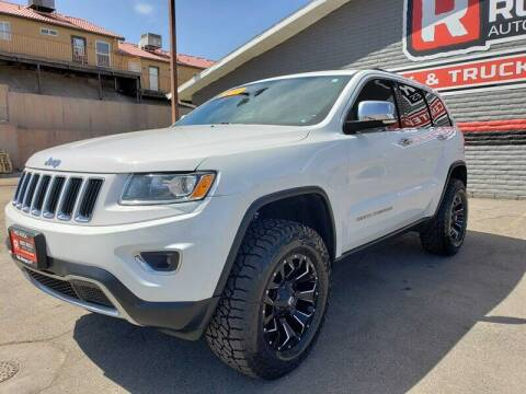 2016 Jeep Grand Cherokee for sale at Red Rock Auto Sales in Saint George UT