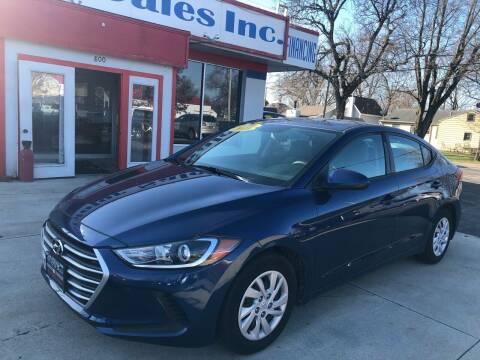 2018 Hyundai Elantra for sale at TNT Motor Sales in Oregon IL