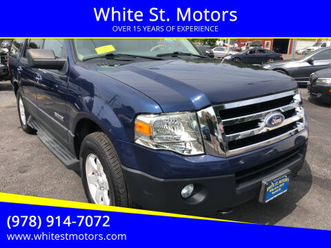2007 Ford Expedition for sale at White St. Motors in Haverhill MA