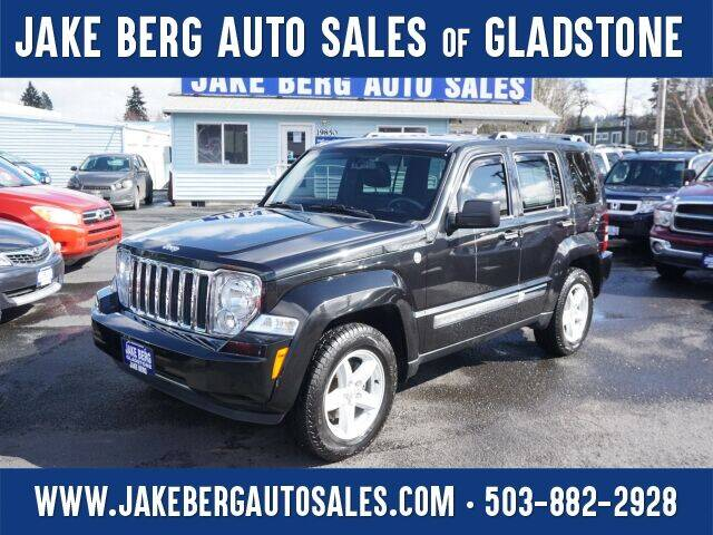 2012 Jeep Liberty for sale at Jake Berg Auto Sales in Gladstone OR
