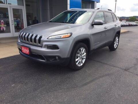 2017 Jeep Cherokee for sale at Jones Chevrolet Buick Cadillac in Richland Center WI
