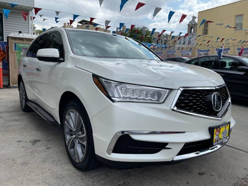 2018 Acura MDX for sale at Elite Automall Inc in Ridgewood NY