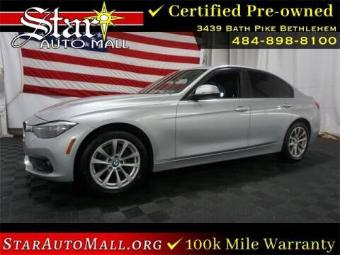 2016 BMW 3 Series for sale at STAR AUTO MALL 512 in Bethlehem PA