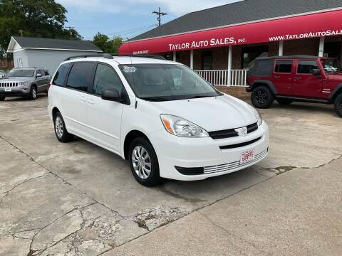 2004 Toyota Sienna for sale at Taylor Auto Sales Inc in Lyman SC