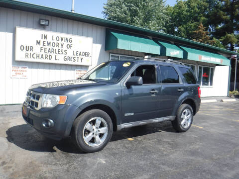 2008 Ford Escape for sale at GRESTY AUTO SALES in Loves Park IL