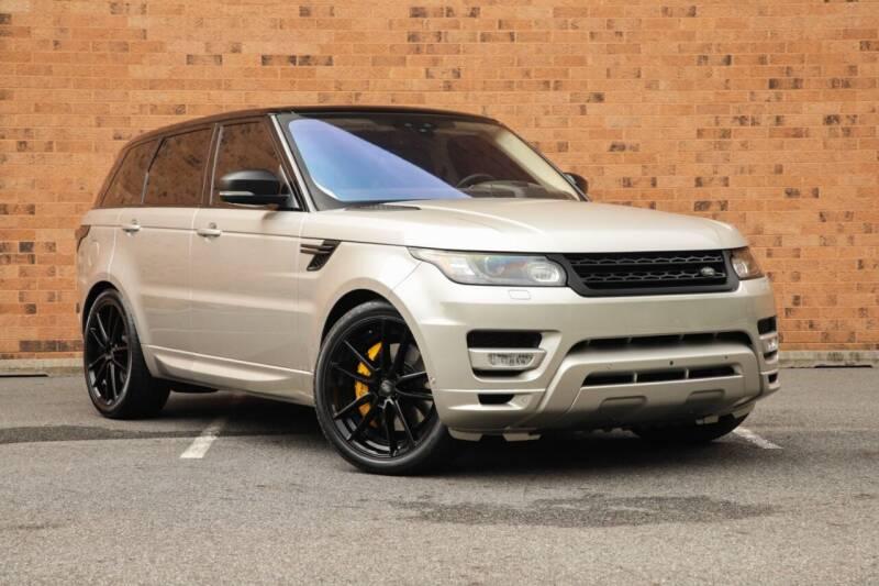 2017 Land Rover Range Rover Sport for sale at Vantage Auto Wholesale in Moonachie NJ