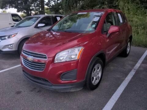 2015 Chevrolet Trax for sale at Strosnider Chevrolet in Hopewell VA
