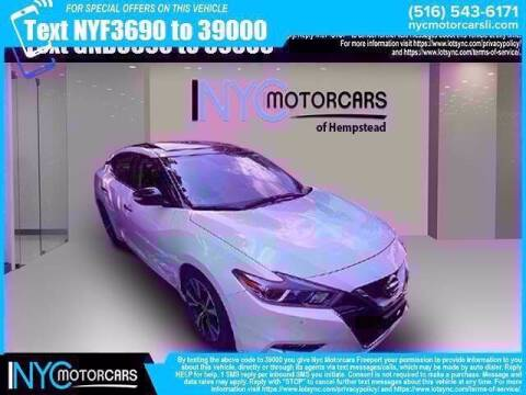 2017 Nissan Maxima for sale at NYC Motorcars in Freeport NY
