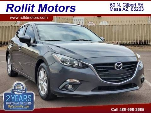 2016 Mazda MAZDA3 for sale at Rollit Motors in Mesa AZ