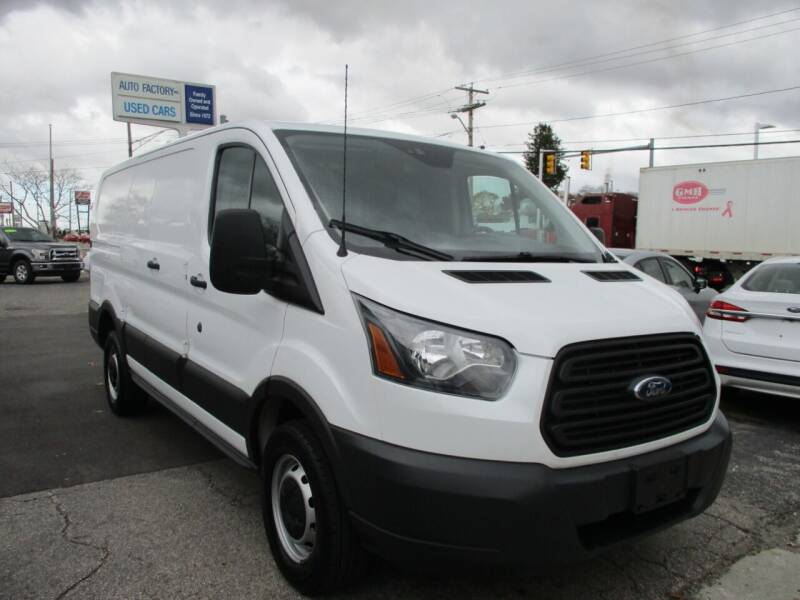 2016 Ford Transit Cargo for sale at AUTO FACTORY INC in East Providence RI