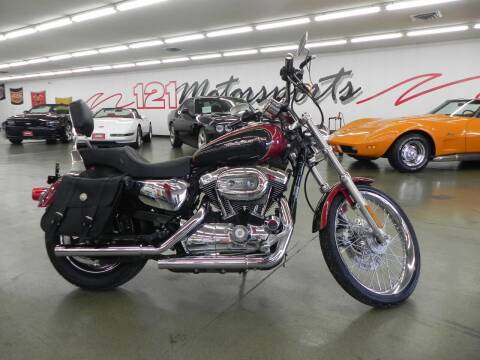 2007 Harley-Davidson 1200 Sportster for sale at 121 Motorsports in Mt. Zion IL