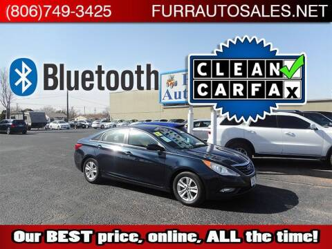 2013 Hyundai Sonata for sale at FURR AUTO SALES in Lubbock TX