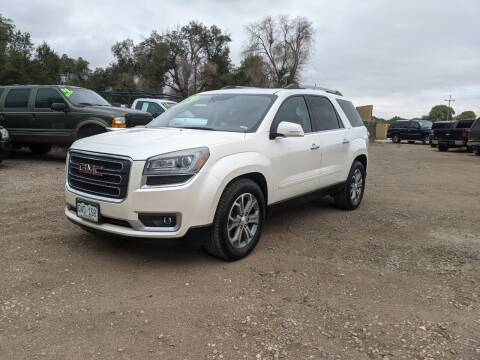 2014 GMC Acadia for sale at HORSEPOWER AUTO BROKERS in Fort Collins CO