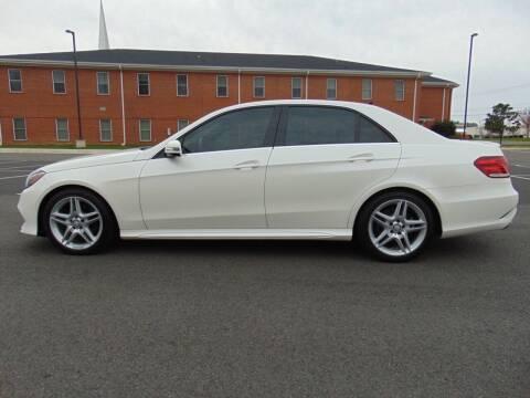 2014 Mercedes-Benz E-Class for sale at CR Garland Auto Sales in Fredericksburg VA