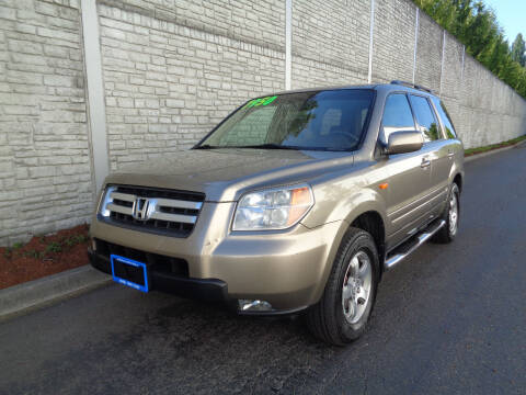 2008 Honda Pilot for sale at Matthews Motors LLC in Algona WA